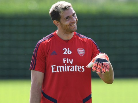 Emiliano Martinez plans to dethrone Bernd Leno as Arsenal's No.1 this season