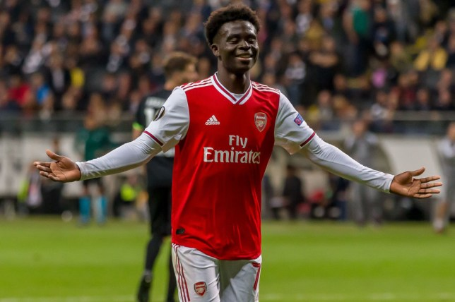 Image result for saka arsenal