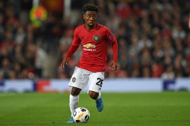 Angel Gomes has attracted interest from Barcelona (Picture: Getty)