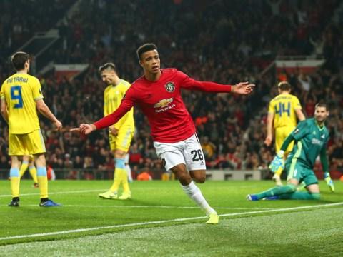 Mason Greenwood strikes in limp Man Utd win over Astana in the Europa League