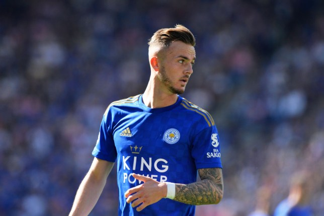 Manchester United have been urged to sign James Maddison from Leicester City