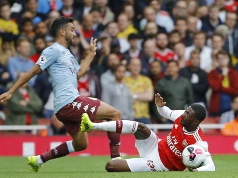 Arsenal boss Unai Emery insists Ainsley Maitland-Niles wrongly sent off against Aston Villa