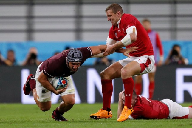 Hadleigh Parkes said he could feel the broken bone moving around in his hand