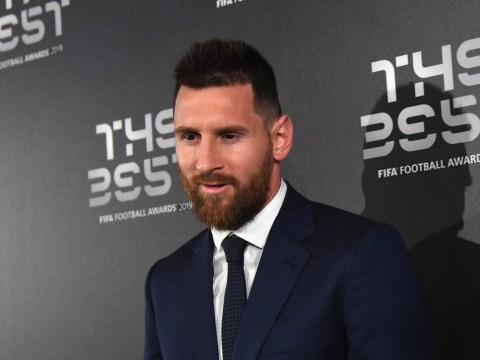 Lionel Messi named world's best player ahead of Cristiano Ronaldo and Virgil van Dijk