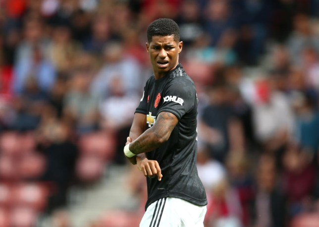 Marcus Rashford has two goals in his last 12 appearances (Picture: Getty)