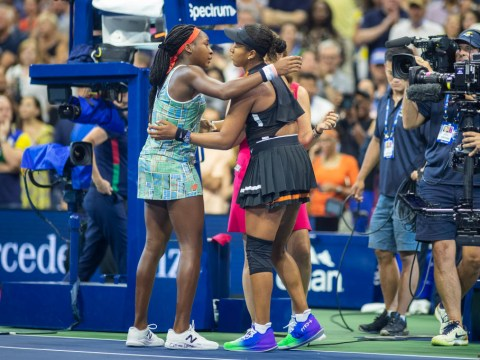 Roger Federer reacts to heartwarming Coco Gauff and Naomi Osaka US Open moment