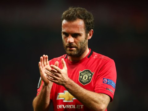 Juan Mata blown away by 'unbelievable' Aaron Wan-Bissaka in Manchester United training