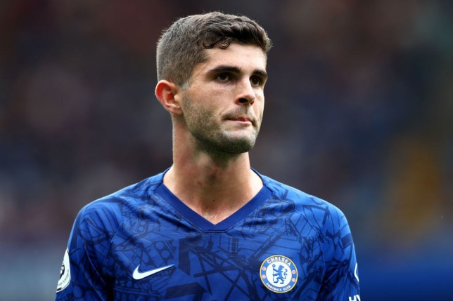 Christian Pulisic was benched for Chelsea's Premier League clash with Liverpool