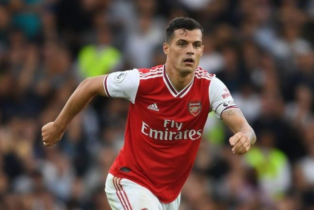 Granit Xhaka is set to be confirmed as Arsenal's new club captain