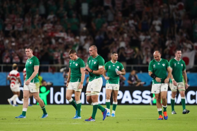 Ireland were left dejected by a sobering 19-12 defeat to Japan