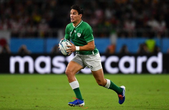 Joey Carbery came on as a replacement but could not save Ireland from defeat