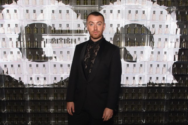Singer Sam Smith at the GQ Awards in 2019