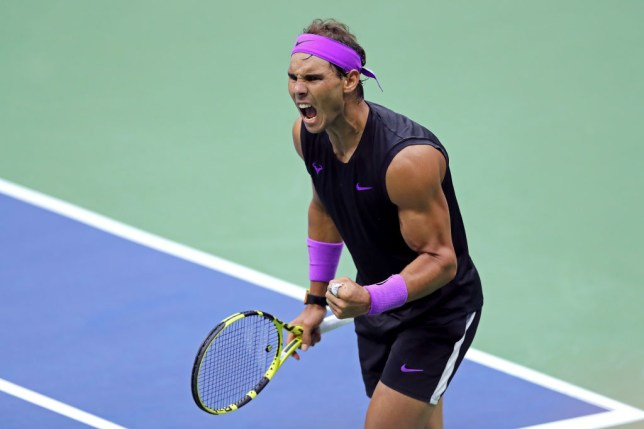 Rafael Nadal roars on his way to winning the US Open