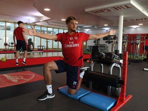 Why William Saliba is back at Arsenal's training ground