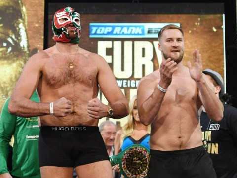 Tyson Fury takes total weight loss to 138lbs after tipping scales for Otto Wallin clash