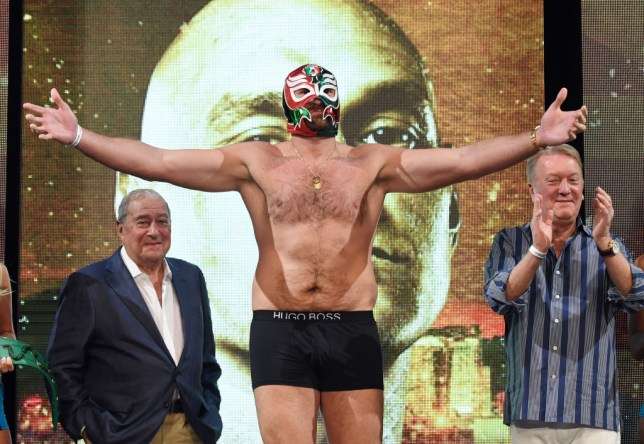 Tyson Fury to earn £12m fight purse for Otto Wallin clash