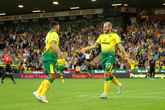 Teemu Pukki starred for Norwich again