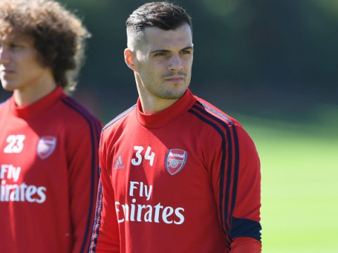 Unai Emery hails under-fire Granit Xhaka as leader for Arsenal