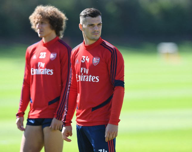 Granit Xhaka could be about to be named Arsenal captain