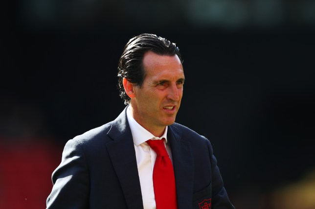 Unai Emery is starting to feel some pressure at the Emirates