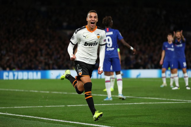 Rodrigo struck eight minutes from time (Picture: Getty)