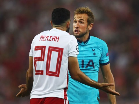 Tottenham throw away two-goal lead to be held to draw by Olympiakos in Champions League