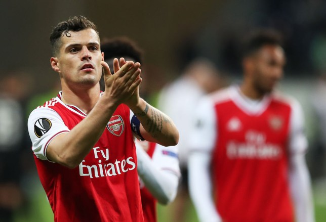 Granit Xhaka has been below-par so far this season (Picture: Getty)