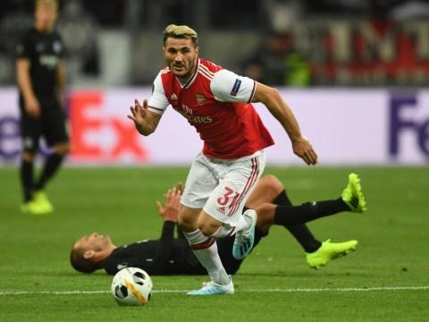 Unai Emery provides update after Sead Kolasinac is forced off against Eintracht Frankfurt