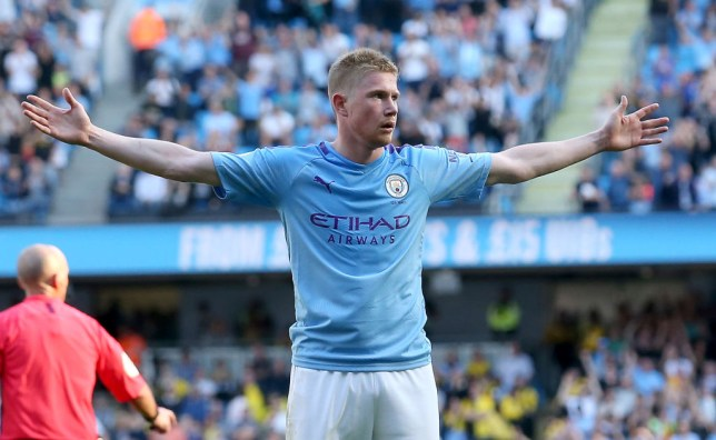 Kevin De Bruyne has enjoyed a superb start to the season for Manchester City