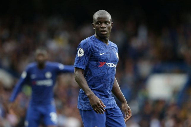 N'Golo Kante missed Chelsea's win over Brighton with a hamstring problem