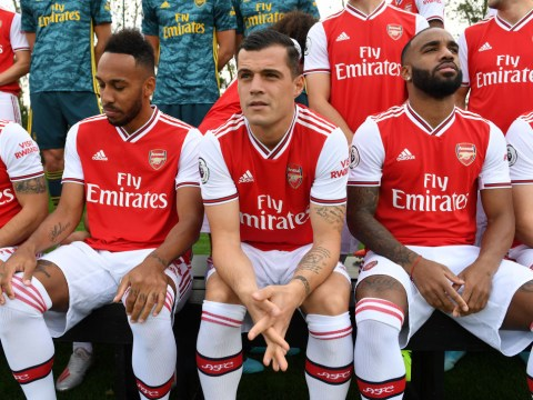 Pierre-Emerick Aubameyang explains why Granit Xhaka 'deserves' to captain Arsenal