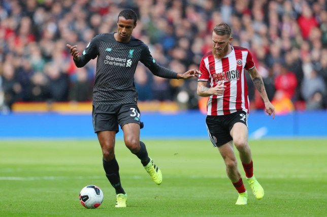 Liverpool star Joel Matip impressed Arsenal legend Ian Wright with his display at Bramall Lane