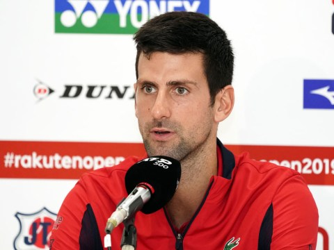 Novak Djokovic 'pleasantly surprised' to make it to Tokyo but remains cautious over shoulder injury