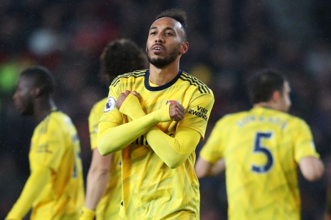 Aubameyang reveals what he was thinking when goal was ruled out vs Man Utd
