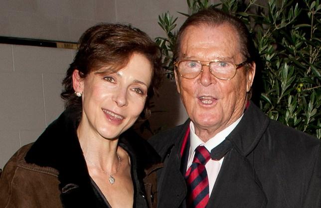 Roger Moore's daughter Deborah gets signs James Bond star is watching over her
