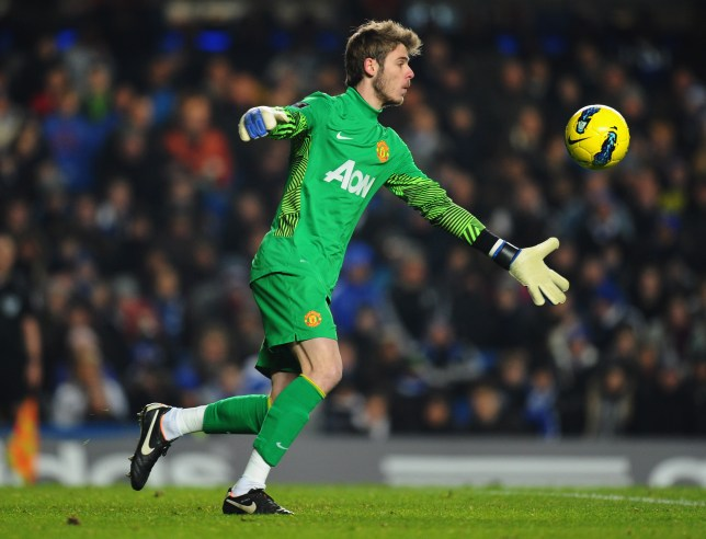 David De Gea struggled in his first few months at United before excelling in a clash with Chelsea