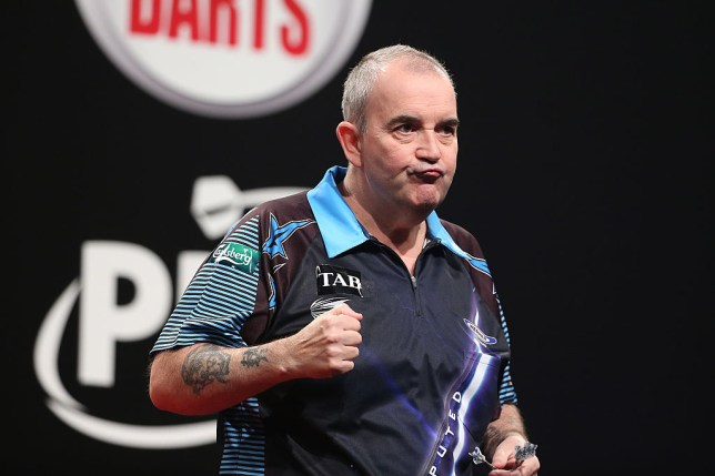 Phil Taylor continues comeback talk: 'I'd love to have another bash at Michael van Gerwen and Gary Anderson'
