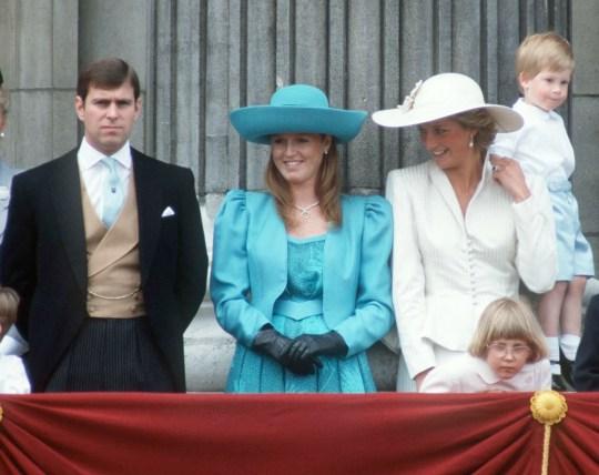 Prince Andrew, Sarah Duchess Of York, Princess Diana