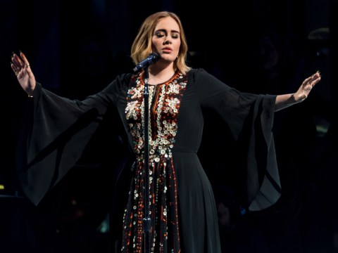 Who is Adele dating and when did she divorce her ex-husband?