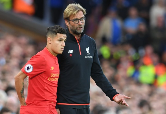 Jurgen Klopp had a special message for Philippe Coutinho