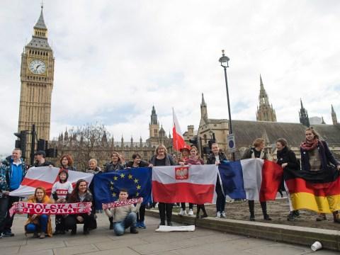 I'm Polish and despite Brexit I'm not leaving the UK