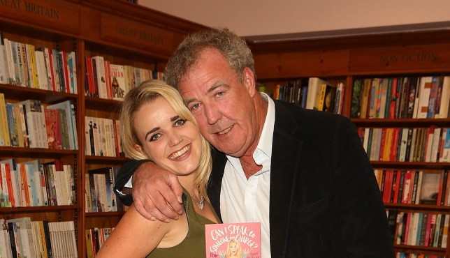 Jeremy Clarkson and his daughter Emily