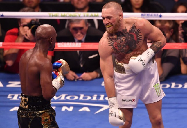 Conor McGregor is 0-1 in his pro boxing career