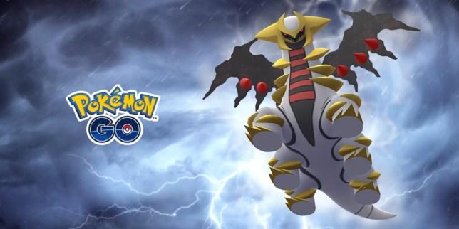 Legendary Pokemon Giratina