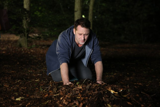 Breda takes Tony to Harry's grave in Hollyoaks