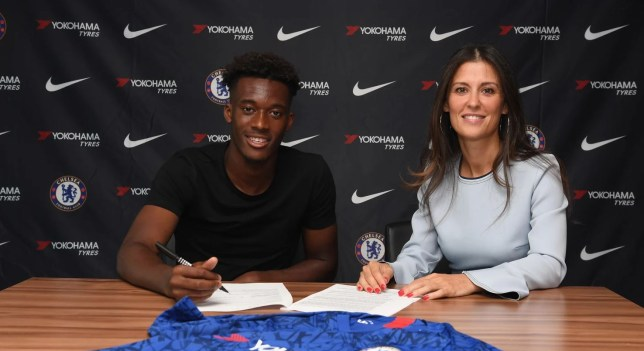 Callum Hudson-Odoi signed a new five-year contract with Chelsea this week