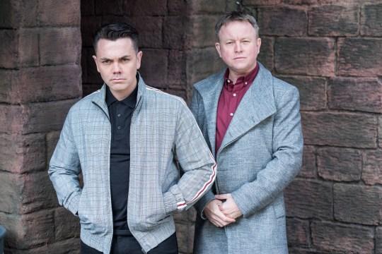 Jonny and Stuart in HOllyoaks