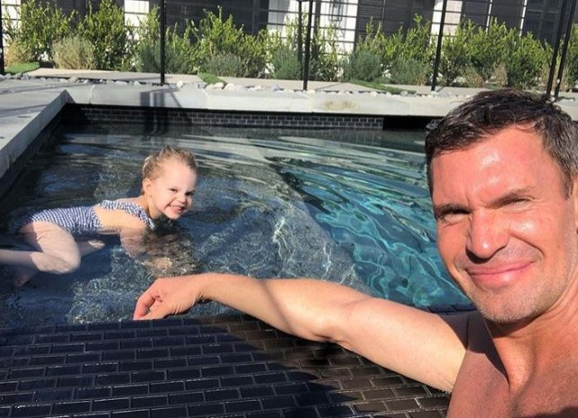 Jeff Lewis and daughter Monroe