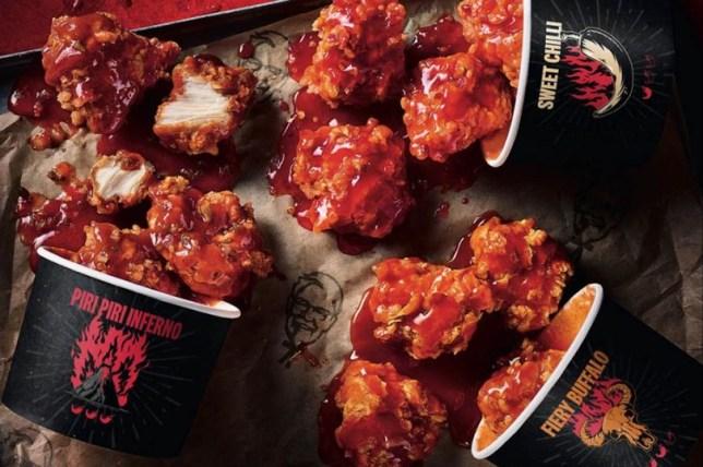 KFC bites