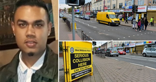 Rajesh Chand, 29, was crossing Soho Road in Handsworth in the early hours of Saturday when he was hit by a vehicle that failed to stop